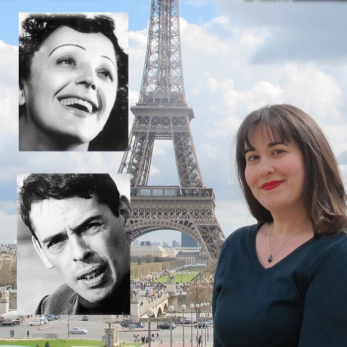 Promotional picture for Piaf and Brel: The Impossible Concert