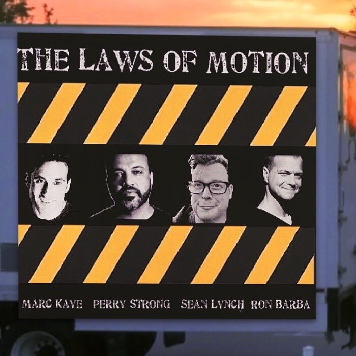 Promotional picture for The Laws of Motion